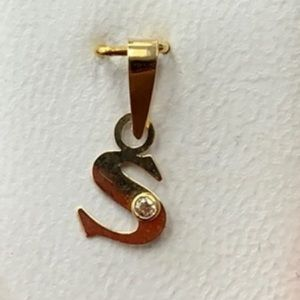 Jewelry - 14k yellow gold S initial Pendant
